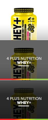 WHEY+ - 4 PLUS NUTRITION