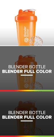 BLENDER FULL COLOR - BLENDER BOTTLE
