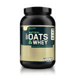 Natural 100% Oats & Whey Protein - Optimum
