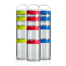 GoStak Starter 4Pak Blender Bottle - Blender Bottle