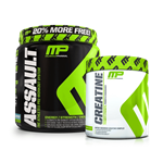 Combo Insano Muscle Pharm (Assault + Creatina) - Muscle Pharm