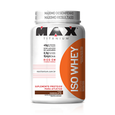 Iso Whey Protein - Max Titanium