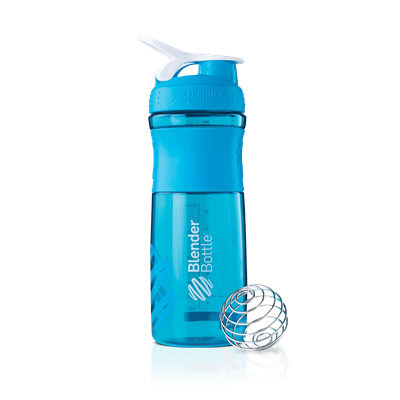 Blender Bottle SportMixer 830ml (Colorida) - Blender Bottle
