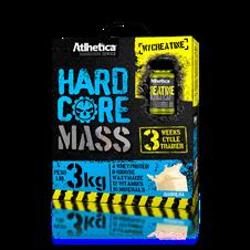 Hardcore Mass (Grátis Creatina 60 caps) - Atlhetica Hardcore Series