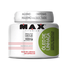 Óleo de Linhaça - Max Titanium