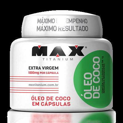 Óleo de Coco - Max Titanium