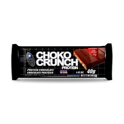 Choko Crunch Protein - 12 Unidades de 40 g - Probiotica