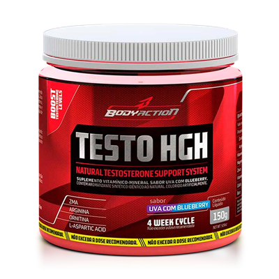 Testo HGH - Body Action