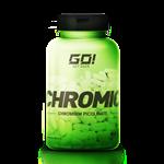 Chromic (Cromo Picolinato) Ultra Premium - GO Nutrition