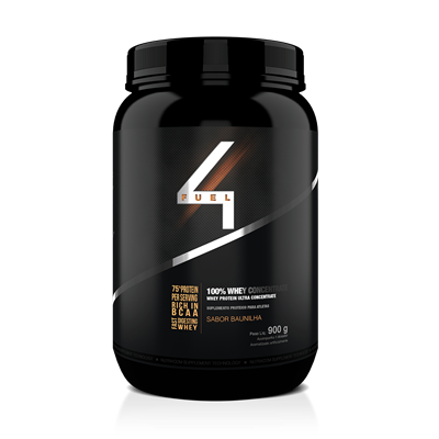 100% Whey Concentrate - 4 Fuel