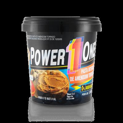 Pasta de Amendoim Power One é produzida com matéria-prima de qualidade, grãos de amendoim selecionados e sem adição de açúcar, trazendo os melhores benefícios para suas receitas.
