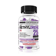 A fórmula Methyldrene Original 25 Elite Stack possui uma combinação de plantas estimulantes que resultaram um potente suplemento para perda de peso e queima de gordura.