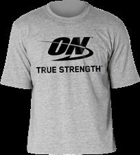 Camiseta Cinza ON - Optimum Nutrition