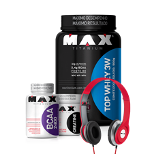 Combo Top Whey 3W - Max Titanium
