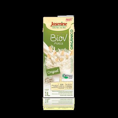 Bebida Orgânica de Aveia com Cálcio - Jasmine