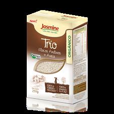 Trio em Flocos Orgânico - Jasmine