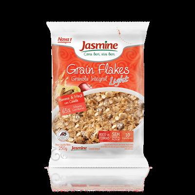 Grain Flakes Ligth Banana & Maça- Jasmine