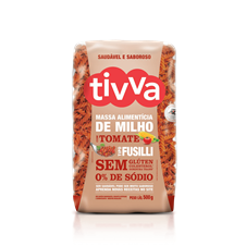 Macarrão Fusilli de milho com Tomate - Tivva
