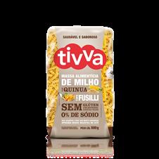 Macarrão Fusilli de milho com Quinua - Tivva