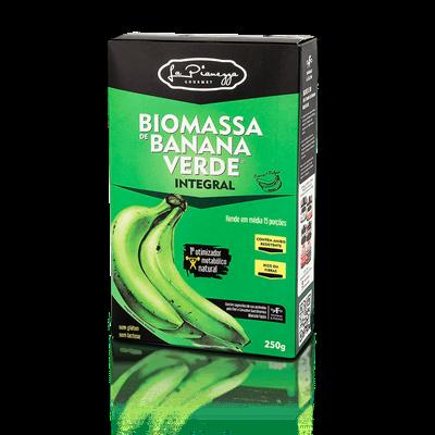 A Biomassa de Banana Verde Integral, da La Pianezza, é um produto 100% natural, elaborado com a polpa e casca da banana. É uma ótima opção para ser utilizada em substituição ao espessantes tradicionais, melhorando o valor nutricional das preparações.