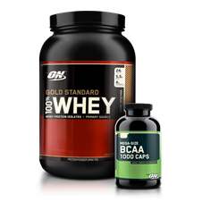 Combo Whey Gold + BCAA 1000 - Optimum Nutrition