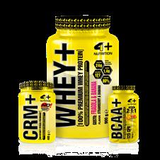 Combo Massa Muscular - 4 Plus Nutrition
