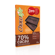 Chocolate 70% Cacau - ChocoLife