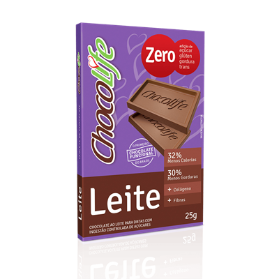 Chocolate ao Leite - ChocoLife