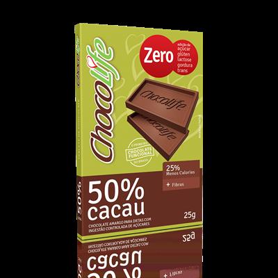 Chocolate 50% Cacau - ChocoLife