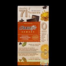 Chocolate Senses (Cúrcuma, Pimenta Preta e Laranja) - ChocoLife