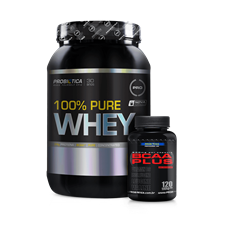 Combo 100% Whey Protein - Probiótica