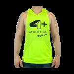 Camiseta Regata c/ Capuz Amarelo Neon - 4+ Athletics