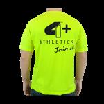 Camiseta Join Us Amarelo Neon - 4+ Athletics
