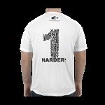 Camiseta Number One Branca - 4+ Athletics