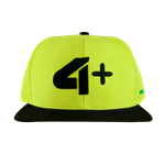 Boné - 4+ Athletics - Amarelo Fluorescente