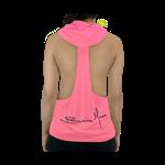 Camiseta Regata c/ Capuz Rosa - 4+ Athletics