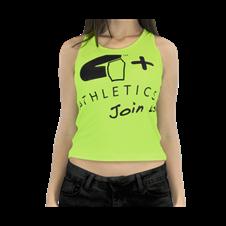Camiseta Regata Join Us Neon - 4+ Atlhetics