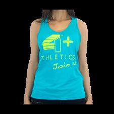 Camiseta Regata Feminina Azul - 4+ Athletics