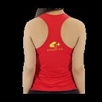 Camiseta Regata Feminina Vermelha - 4+ Athletics