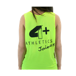 Camiseta Regata Feminina Verde - 4+ Athletics