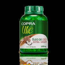 Óleo de Coco Extra Virgem Caps - Copra