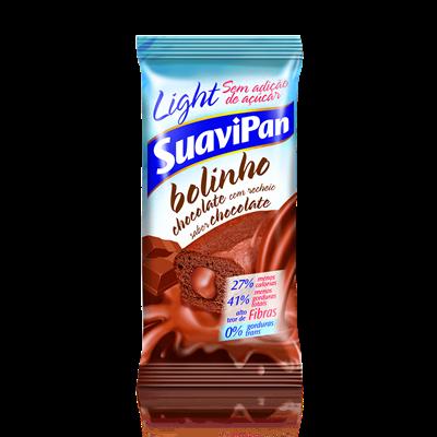 Bolinho de Chocolate c/ Recheio de Chocolate - Suavipan