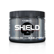 Shield (L-Glutamine) - Black Skull
