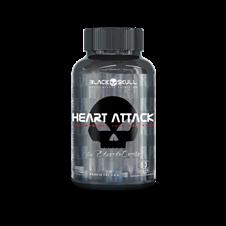 Heart Attack - Black Skull