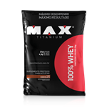 100% Whey Protein Refil (2000g) - Max Titanium
