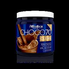 CHOCO70 Clean (Achocolatado 70% Cacau) - Atlhetica Clinical Series