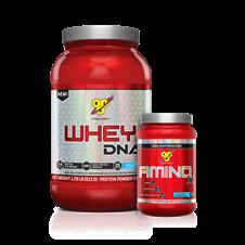 Combo Whey 100% DNA + Amino X - BSN