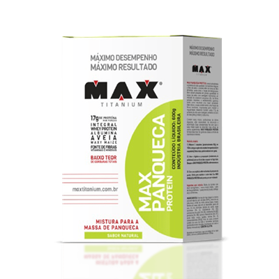 Panqueca Integral - Max Titanium