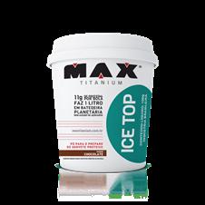 Ice Top (Sorvete de Proteína) - Max Titanium