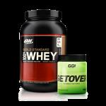 Combo Whey Gold 100% + Pré-Treino - Multimarcas